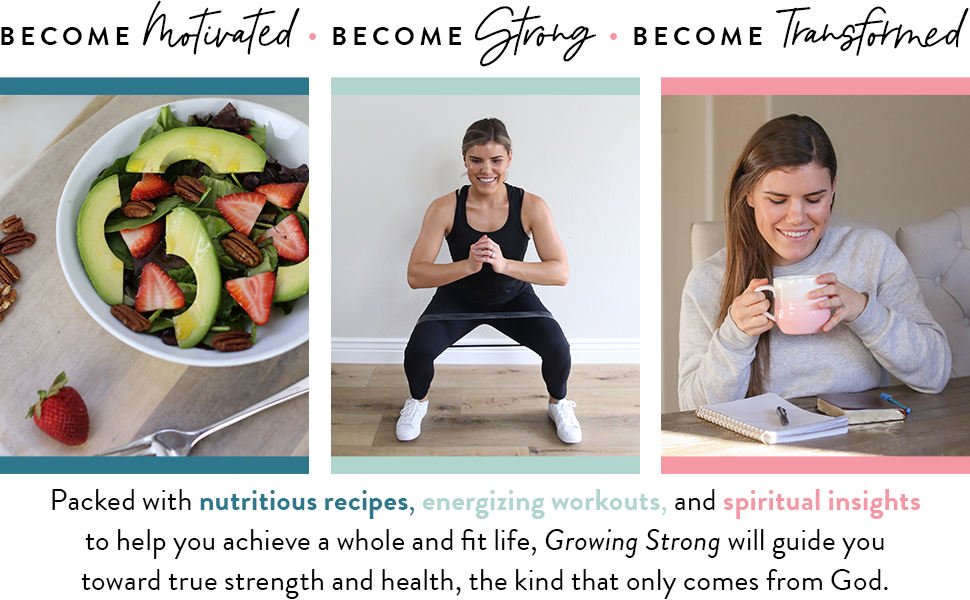 motivated, strong, transformed recipes, workouts, insights, spiritual