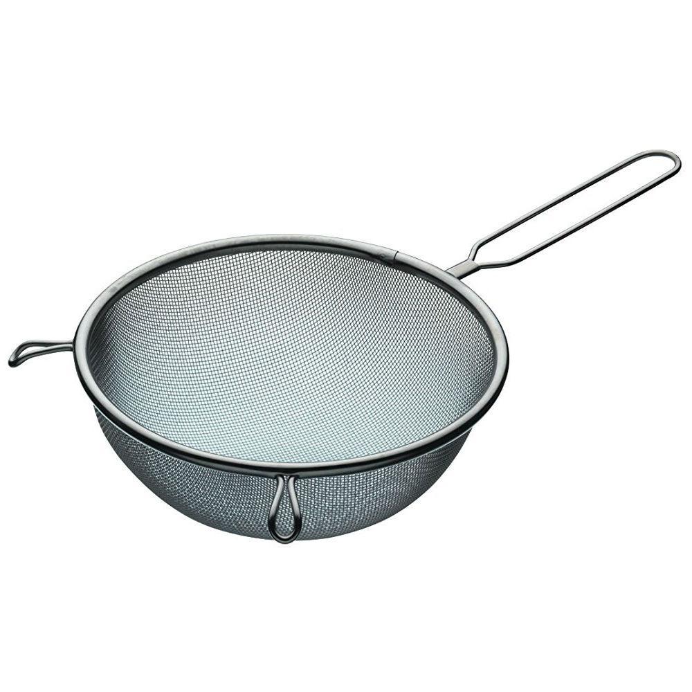 KitchenCraft Medium Stainless Steel Sieve, 18 cm (7\