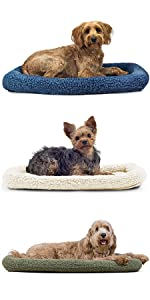 bolster; bed; mat; pad; crate; kennel; dog; cat; pet