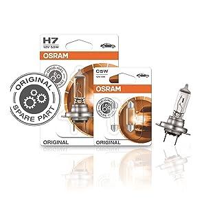 Osram Cool Blue Intense H1 Halogen Scheinwerferlampe 64150cbi Hcb 12v Pkw Duobox 2 Stück Auto