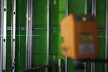 Pls3 3 Point Red Beam Laser Level Pls 60523 By Pacific