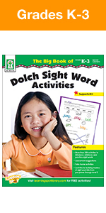 Dolch Sight Word Activities Workbook