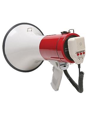 Red megaphone