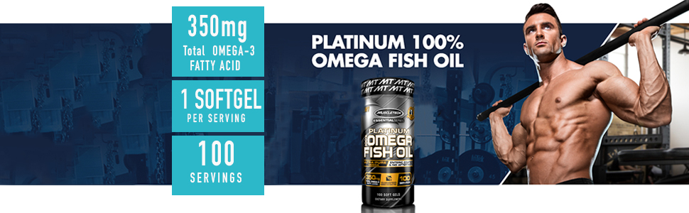 Buy MuscleTech Essential Series Platinum Fish Oil - 100 Capsules Online at Low Prices in India - Amazon.in