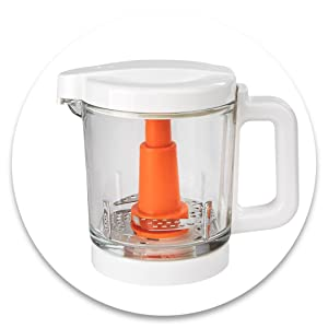 Glass Baby Food Steamer and Blender
