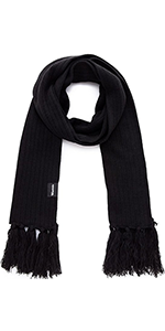 Knitted Scarf with Tassel