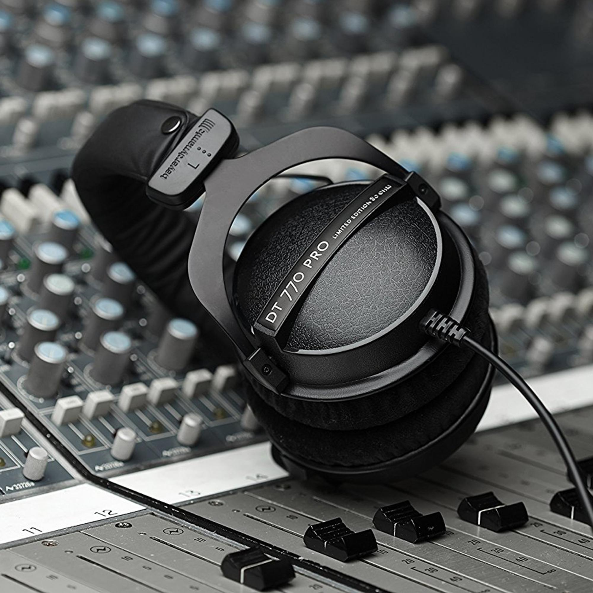 beyerdynamic dt 770 pro 80 ohm limited edition professional studio headphones. Black Bedroom Furniture Sets. Home Design Ideas