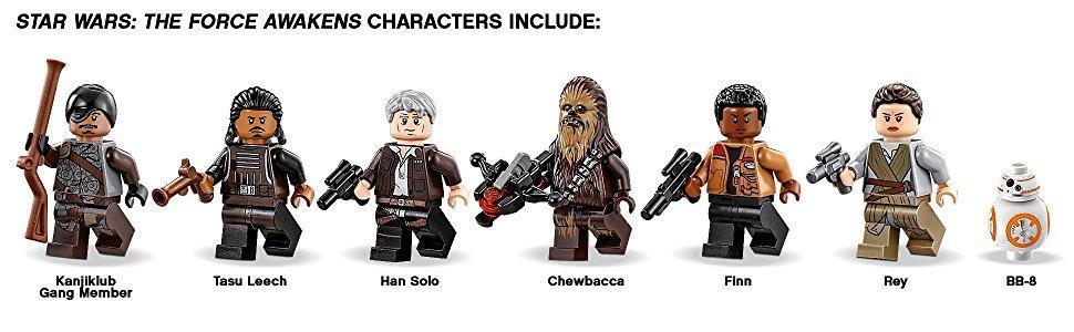 Tasu Leech LEGO Star Wars Figur Minifig Millenium Falcon Falke TFA EP7 75105