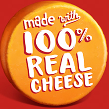 100 real cheese
