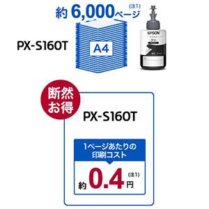 エコタンク PX-S160T