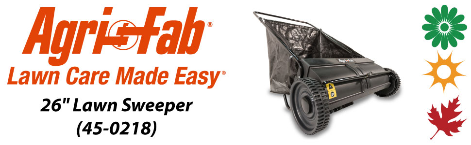 "Agri-Fab, Inc. 26"" Lawn Sweeper Model 45-0218"