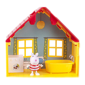 Amazon Com Peppa Pig S Deluxe House Playset Toys Games