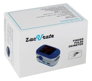 pulse oximeter finger oximeter zacurate heart rate monitor blood oxygen acc u rate