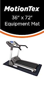 """36"""" x 72"""" fitness equipment mat"""