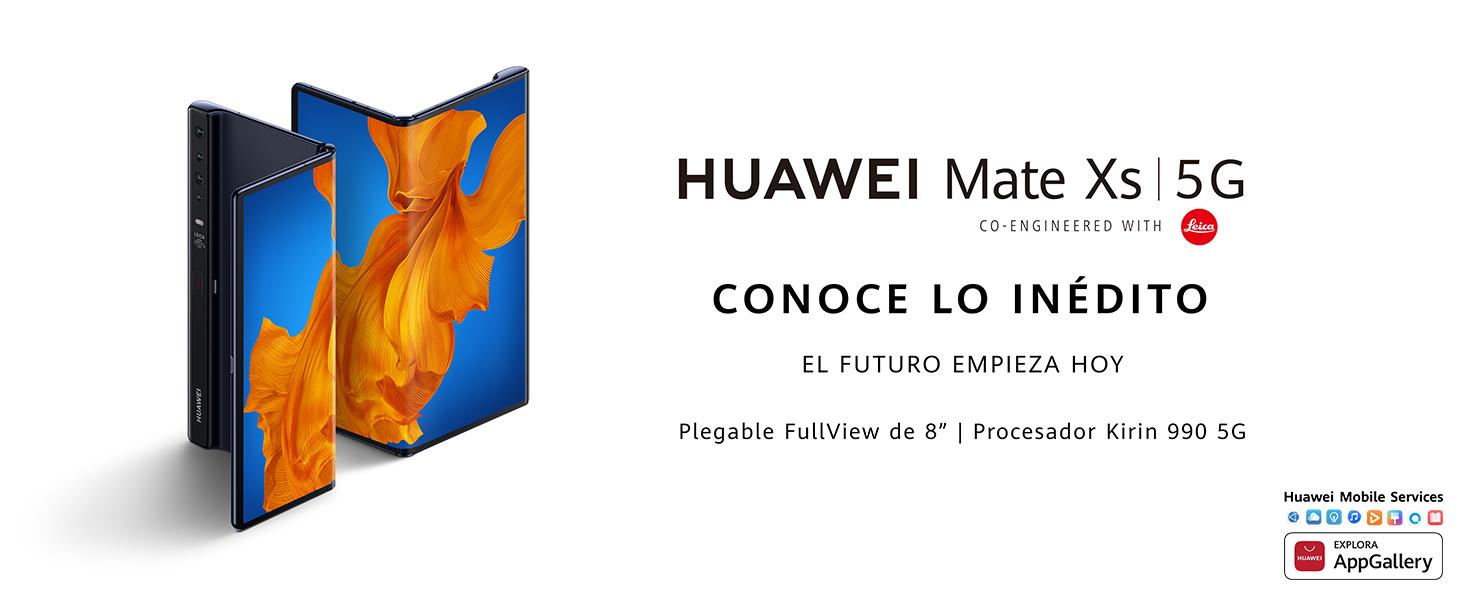 "HUAWEI Mate Xs - Smartphone 5G, pantalla plegable de 8"" (8 GB RAM + 512 GB ROM)"