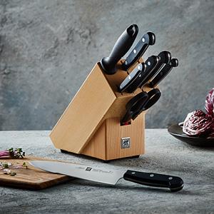 TWIN Gourmet 9-teiliger Messerblock