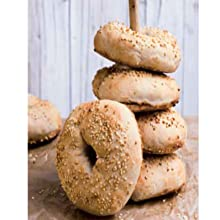 DK, Books, Vegan, Baking, Easy Vegan Baking, Daniela Lais, Sesame Bagels