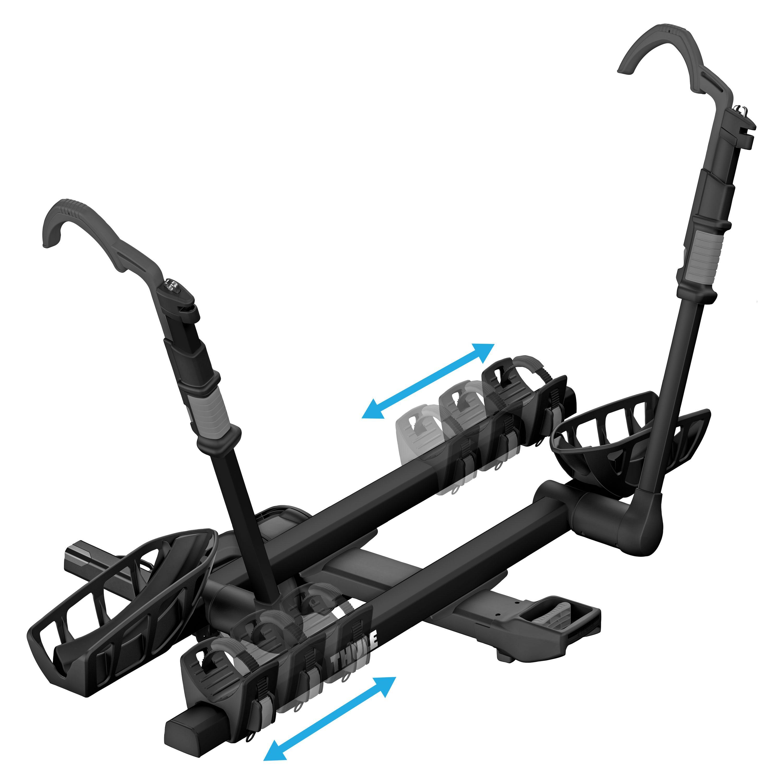 thule t2 pro xt 2 bike rack sports outdoors. Black Bedroom Furniture Sets. Home Design Ideas