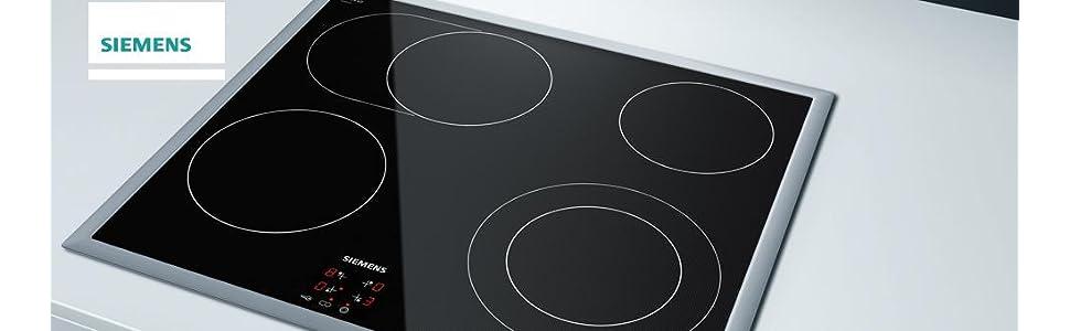 siemens eh645beb1e iq100 kochfeld elektro ceran glaskeramik 58 3 cm timer mit ausschaltfunktion. Black Bedroom Furniture Sets. Home Design Ideas