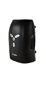 zyllion, black, zma-29, hand, massager, massage, air, compression, shiatsu, rolling, kneading, heat