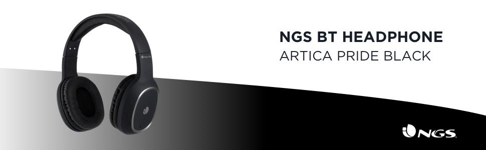 NGS Auriculares Inalámbricos ARTICAPRIDEBLACK BT c