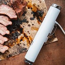 Durable Stainless Steel Cap & Base, sous vide, sous vide cooking, joule, chef steps, breville, home