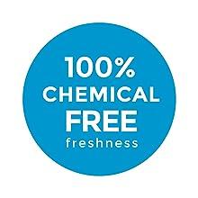 Chemical free freshness