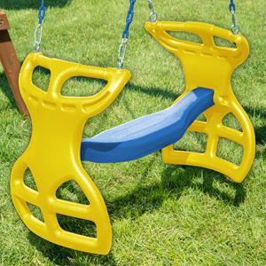 Amazon Com Swing N Slide Ws 3452 Heavy Duty Two Person Dual Glider