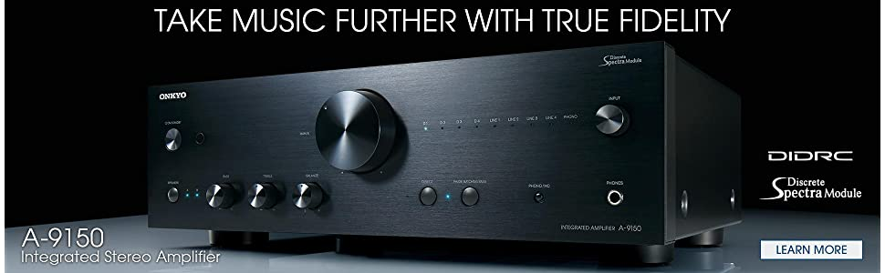 amazon com onkyo a 9150 refined power stereo integrated amplifier