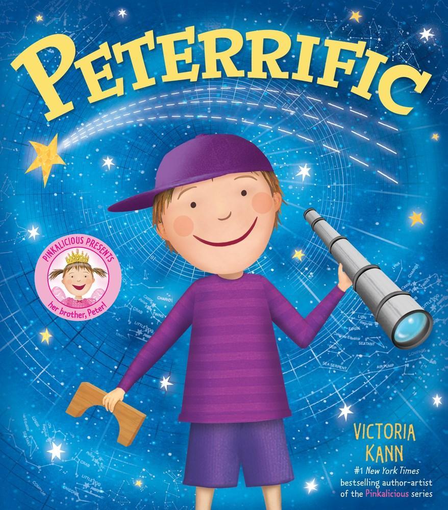 peterrific pinkalicious victoria kann 9780062563569 amazon