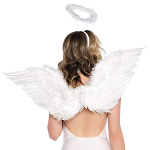 Leg Avenue 2 Piece Angel Costume Accessory Kit Black One Size Amazon Ca Clothing Accessories