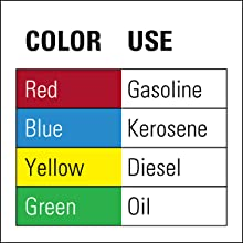 OSHA FM NFPA Safety Can yellow diesel Eagle