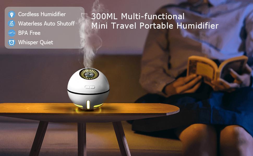 Cordless Ultrasonic Humidifier: myPearl | Indiegogo