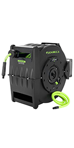 flexzilla levelwind retractable air hose reel