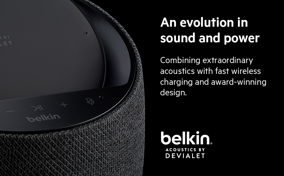 belkin soundform smart speaker