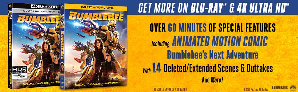 Amazon com: Bumblebee [Blu-ray]: Hailee Steinfeld, Travis
