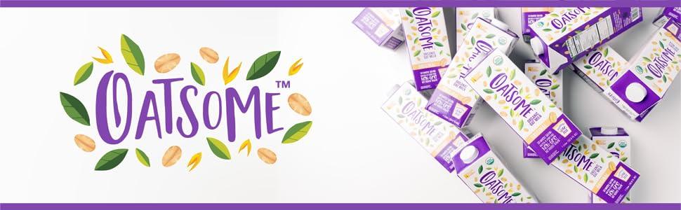 Oatsome Organic Oat Milk Gluten-Free gluten free dairy free Diary-free alternative milk