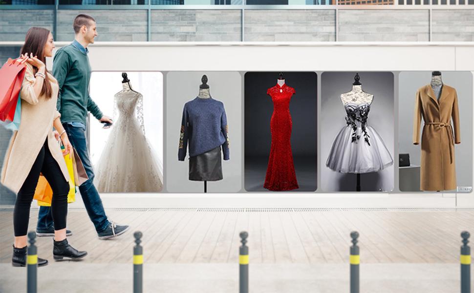 Dressform Mannequin Torso Dress Form2