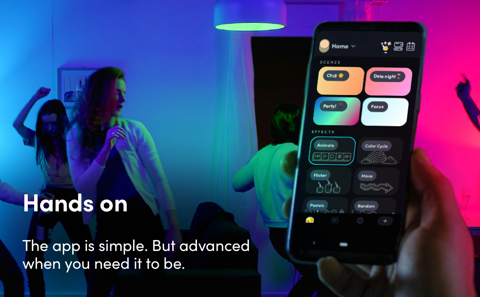 Hands on - The app is simple, but advanced.