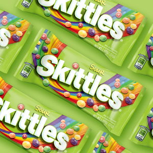 Skittles Sour Candy Bag - Single Size