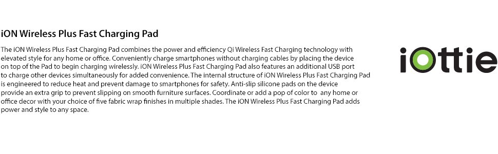 wireless fast charging station charger pad