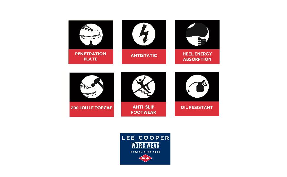 Lee Cooper Sicherheitsschuh LCSHOE008C