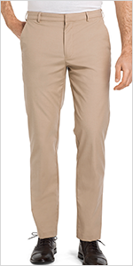 van heusen, flat front flex oxford chino, mens pants, chinos for men