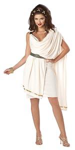 Toga Party, Toga Cosplay, Toga, Halloween, Egypt, Greek, Roman, Toga Costume, Toga Wig, Women