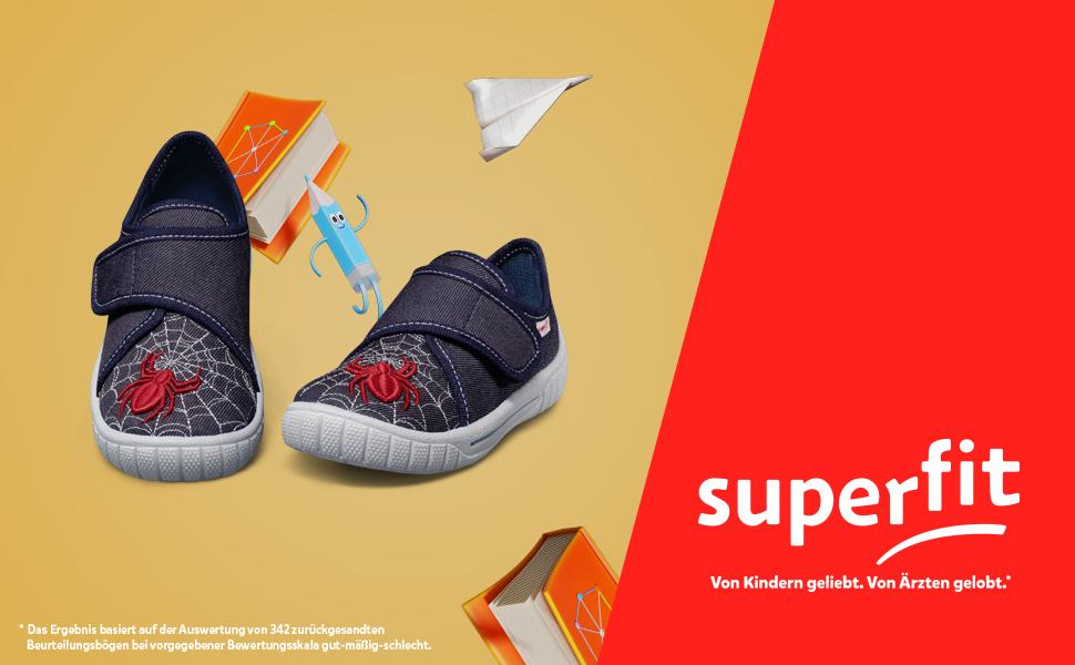 Zapatillas de estar por casa para niños Superit Bill