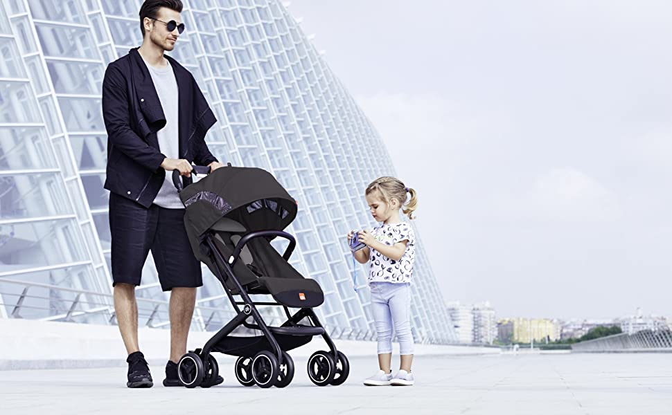 GB Luxury Qbit+ Qbit stroller