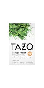 TAZO Refresh Mint Tea Bags, 20 Count