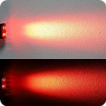daytime visible flashing bike tail light