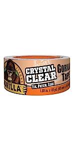 Gorilla Crystal Clear Repair Tape