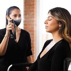Professional Makeup Artist using Skindinavia